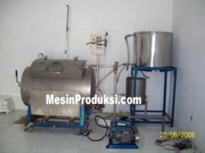 Jual Mesin Vacuum Frying Kapasitas 25 kg  di Semarang