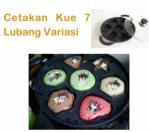 Cetakan Kue 7 Lubang Variasi Di Semarang