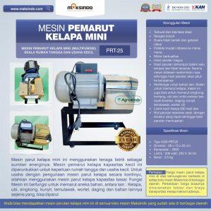 Jual Mesin Parut Kelapa Mini AGR-PRT25 di Semarang