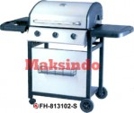 Jual Mesin Barbeku Gas Barbeque With Side Burner di Semarang
