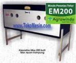 Jual Mesin Penetas Telur Manual 200 Telur (EM-200) di Semarang