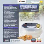 Jual Mesin Tetas Telur 12 Butir Otomatis – AGR-TT12 di Semarang