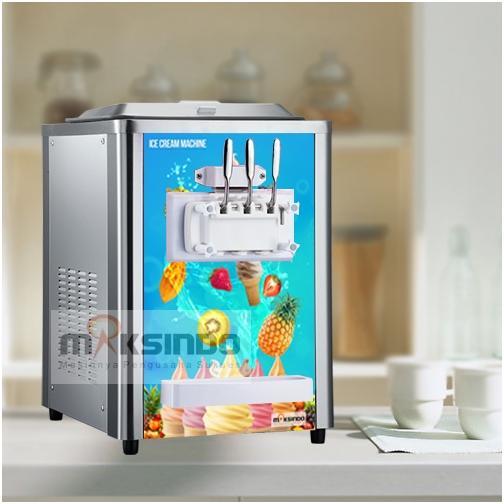 Jual Mesin Soft Ice Cream 3 Kran (Italia Compressor) – ISC-316 di Semarang
