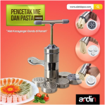 Jual Alat Cetak Mie dan Pasta Manual Stainless (ARDIN) di Semarang