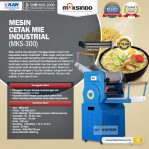 Jual Mesin Cetak Mie Industrial (MKS-300) di Semarang