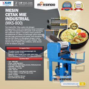 Jual Mesin Cetak Mie Industrial (MKS-800) di Semarang