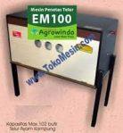 Jual Mesin Penetas Telur Manual 100 Telur (EM-100) di Semarang