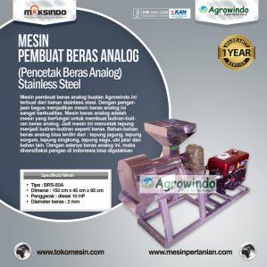 Jual Mesin Pembuat Beras Analog di Semarang
