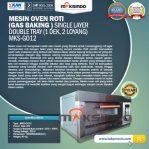 Jual Mesin Oven Gas 2 Loyang (MKS-GO12) di Semarang