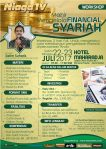 Workshop Mahir Mengelola Financial Syariah 22, 23 Juli 2017