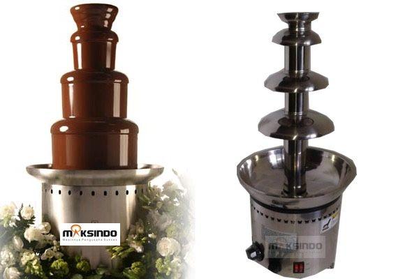 Jual Mesin Chocolate Fountain 4 Tier (MKS-CC4) di Semarang