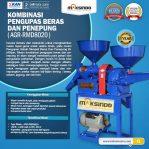 Jual Kombinasi Pengupas Beras dan Penepung RMD8020 di Semarang