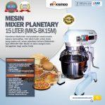Jual Mixer Planetary 15 Liter New High Quality (MKS-BK15M) di Semarang