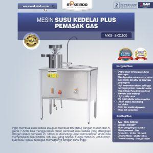 Jual Mesin Susu Kedelai Plus Pemasak Gas (SKD200) di Semarang