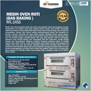 Jual Mesin Oven Roti Gas 4 Loyang (MKS-RS24) di Semarang