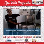 Mayumi Yogurt : Mesin Pasteurisasi Jadikan Bisnis Semakin Maju