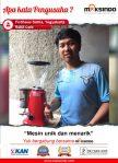 Habit cafe : Mesin Grinder Maksindo Unik dan Menarik