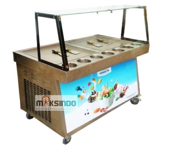 Jual Mesin Roll Fry Ice Cream RIC50x2 di Semarang