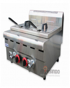 Jual Counter Top 2-Tank 2-Basket Gas Fryer di Semarang