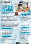 Training Usaha Ice Cream dan Toping, Sabtu 3 Februari 2018