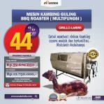 Jual Mesin Kambing Guling Double Location Roaster (GRILLO-LMB55) di Semarang