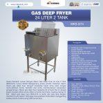 Jual Gas Deep Fryer 24 Liter 2 Tank (G74) Di Semarang