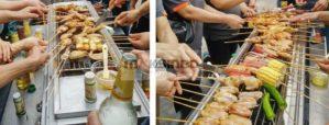 Jual Pemanggang Serbaguna – Gas BBQ Grill 2 Tungku di Semarang