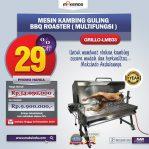 Jual Mesin Kambing Guling BBQ Roaster (GRILLO-LMB33) di Semarang