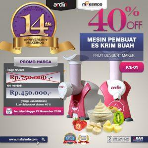 Jual Mesin Es Krim Buah Rumah Tangga di Semarang