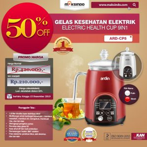 Jual Gelas Kesehatan Elektrik (Electric Cup Health) ARD-CP5 di Semarang