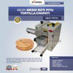 Jual Mesin Roti Pita/Tortilla/Chapati MKS-TRT55 di Semarang