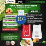 Jual Mesin Sosis Telur 2 Lubang ARDIN ARD-505 di Semarang