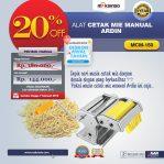 Jual Cetakan Mie Manual Rumah Tangga ARDIN di Semarang