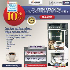 Jual Mesin Pembuat Kopi Instant (Coffee Vending) di Semarang