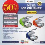 Jual Mesin Ice Crusher MKS-CRS20 di Semarang