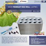 Jual Mesin Pembuat Egg Roll (Listrik) GRILLO-10SS Di Semarang