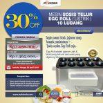 Mesin Pembuat Egg Roll (Listrik) di Semarang