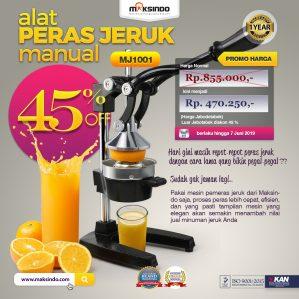 Jual Alat Pemeras Jeruk Manual (MJ1001) di Semarang