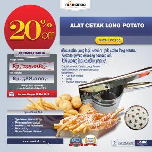 Jual Alat Cetak Long Potato MKS-LPCT30 di Semarang