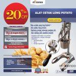 Jual Alat Cetak Long Potato MKS-LPCT50 di Semarang