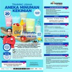 Training Usaha Aneka Minuman Kekinian, Sabtu 20 April 2018