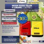 Jual Mesin Sosis Telur 4 Lubang Grillo-400 di Semarang