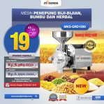 Jual Mesin Penepung Biji-Bijian, Bumbu dan Herbal (GRAIN GRINDER) di Semarang