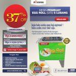 Jual Mesin Egg Roll Gas 6 Lubang GRILLO-GS6 di Semarang