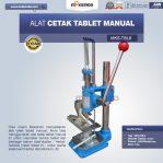 Jual Alat Cetak Tablet Manual MKS-TBL8 di Semarang