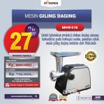 Jual Mesin Giling Daging (Meat Grinder) MHW-G51B di Semarang