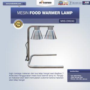 Jual Mesin Food Warmer Lamp MKS-DW240 di Semarang