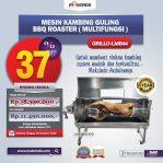 Jual Mesin Kambing Guling BBQ Roaster (GRILLO-LMB44) di Semarang