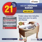 Jual Mesin Adonan Bakso (Fine Cutter) MKS-QW724 di Semarang