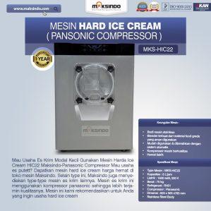 Jual Mesin Hard Ice Cream (HIC22) di Semarang
